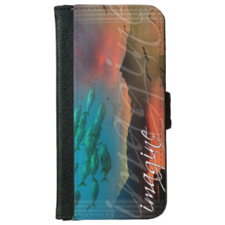 Imagine: A Mind-Expanding Nature Collage iPhone 6 Wallet Case