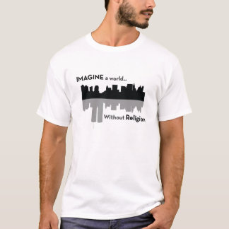 Imagine a world without religion T-Shirt