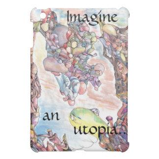 Imagine an utopia iPad case
