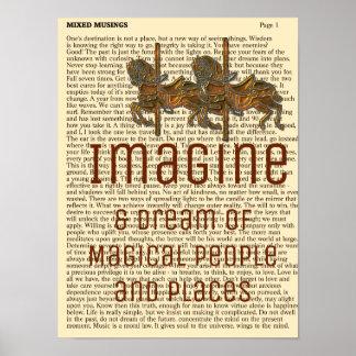 Imagine - Art Print