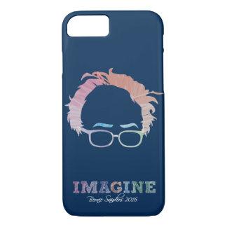 Imagine Bernie Sanders 2016 - watercolors iPhone 7 Case