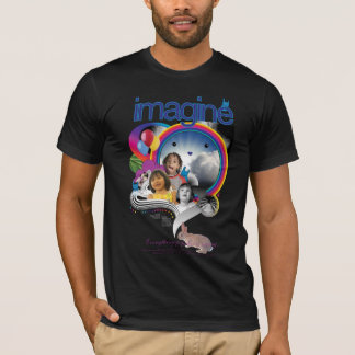 Imagine Black: Test Image to Test Printing Quality T-Shirt