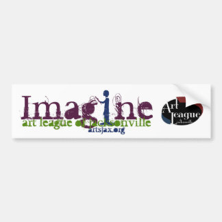 Imagine Bumpersticker Bumper Sticker