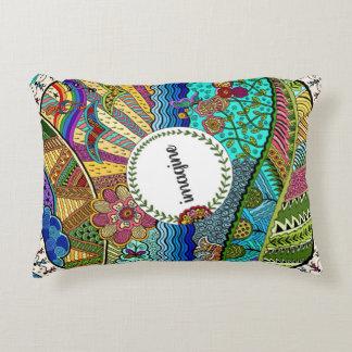Imagine (coloured) accent pillow