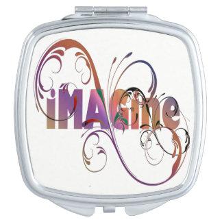 """""""Imagine"""" Compact Mirror"""