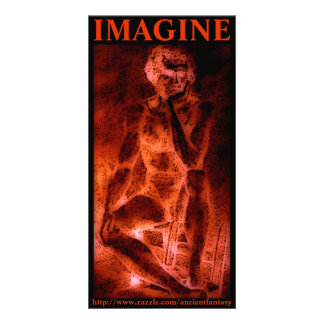 IMAGINE Custom Photo Art Photo Greeting Card