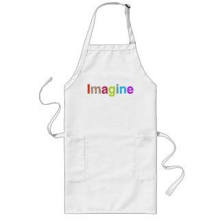 Imagine fun colorful inspiration gift long apron