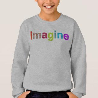 Imagine fun colorful inspiration T-shirt