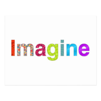 Imagine fun inspiration colorful Card