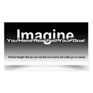 Imagine Goal Card Business Card