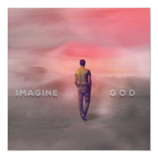Imagine God Card