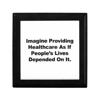 Imagine Healthcare People's Lives Depend On Keepsake Boxes
