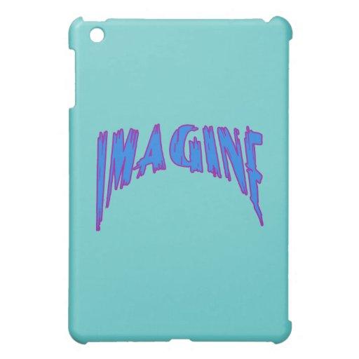 IMAGINE in Blue and Purple iPad Mini Cover
