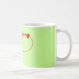 """Imagine""---John Gifts Basic White Mug"