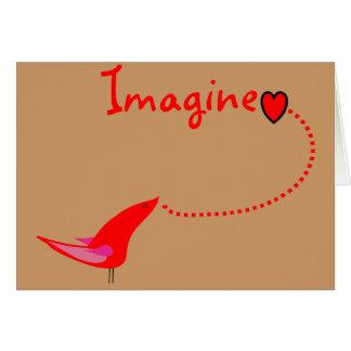 """Imagine""---John Gifts Greeting Card"