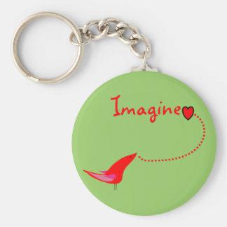 Imagine ---John Gifts Keychain