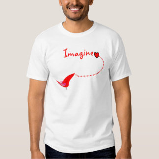 """Imagine""---John Gifts Tee Shirts"