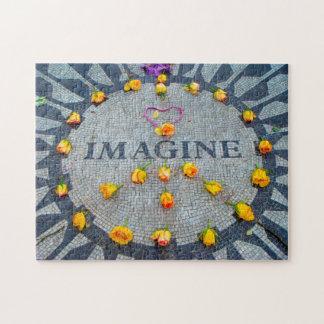 Imagine Memorial New York. Jigsaw Puzzle