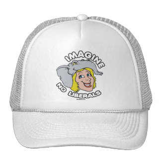 Imagine No Liberals Trucker Hat