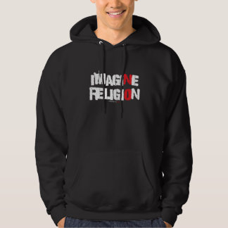 Imagine No Religion Men's Atheist Hoodie
