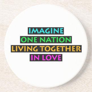 Imagine One Nation Living Together In Love Coaster