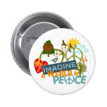 Imagine Peace Abtract Art