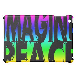 IMAGINE PEACE RAINBOW iPad MINI COVER