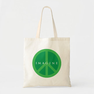 Imagine Peace Tote Bag