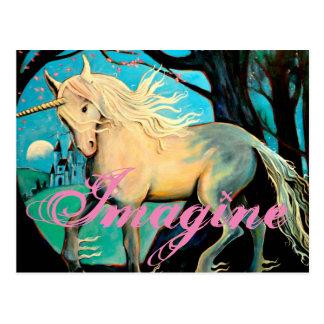 Imagine. Postcard