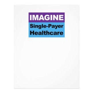 Imagine Single Payer Healthcare Customized Letterhead