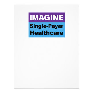 Imagine Single Payer Healthcare Letterhead