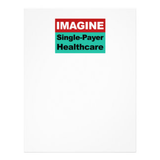 Imagine Single Payer Healthcare Letterhead Template