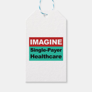 Imagine Single Payer Healthcare Pack Of Gift Tags