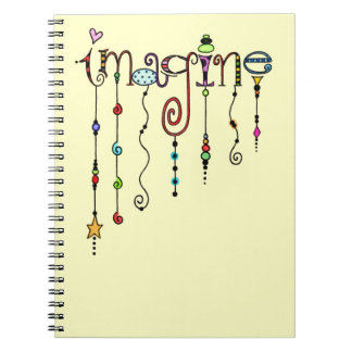 Imagine Spiral Note Book
