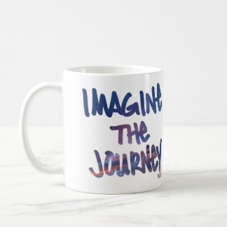 Imagine The Journey Coffee Mug