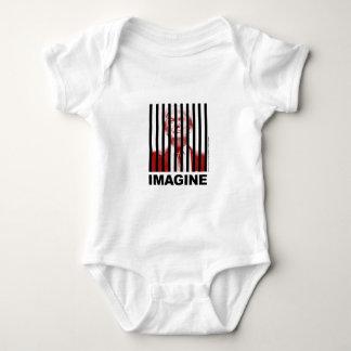 Imagine Trump Behind Bars Baby Bodysuit