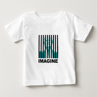 Imagine Trump Behind Bars Baby T-Shirt