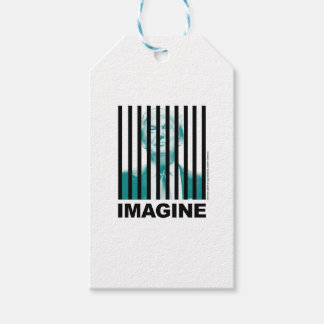 Imagine Trump Behind Bars Gift Tags