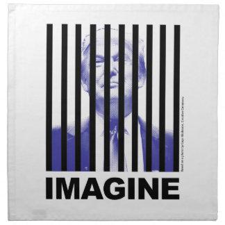 Imagine Trump Behind Bars Napkin