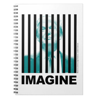 Imagine Trump Behind Bars Notebook