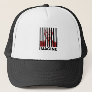 Imagine Trump Behind Bars Trucker Hat