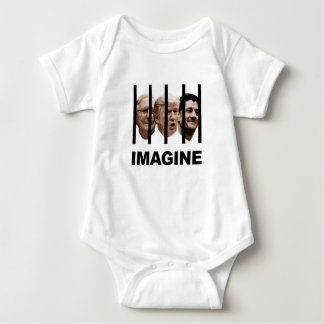 Imagine Trump, McConnell and Ryan Behind Bars Baby Bodysuit