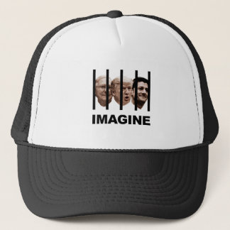 Imagine Trump, McConnell and Ryan Behind Bars Trucker Hat