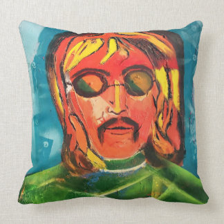 Imagine Who Throw Pillow