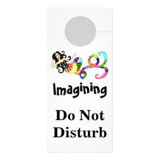 Imagining Do Not Disturb Mermaid Muse Rack Card