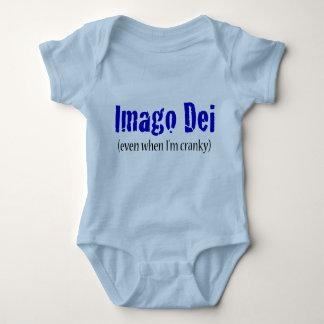 Imago Dei (even when I'm cranky) Baby Bodysuit