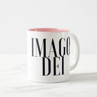 Imago Dei Two-Tone Coffee Mug