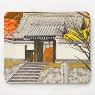 Imai Takehisa Sotai-In Temple japan japanese hanga Mouse Pad
