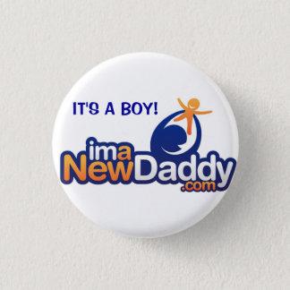 ImANewDaddy It's A Boy 1 Inch Round Button