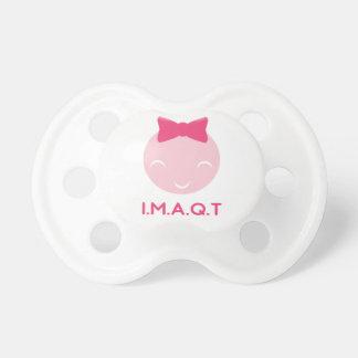 IMAQT Girl pacifier